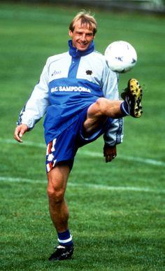 Jurgen Klinsmann (Sampdoria Genes)