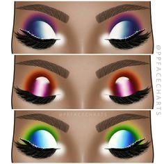 Makeup Inspo, Makeup Tips, Beauty Makeup, Makeup Ideas, Makeup Face Charts, Too Faced, Fantasy Makeup, Eyeshadow Looks, How To Apply Makeup