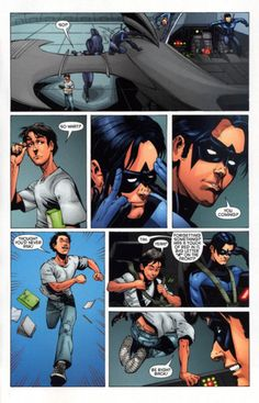 Tim Drake forgetting an important part