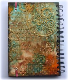 Such a Pretty Mess: VIDEO TUTORIAL: Steampunk Journal Cover {Cheery Lynn Designs} http://gabriellepollacco.blogspot.ca/2014/01/video-tutorial-steampunk-journal-cover.html