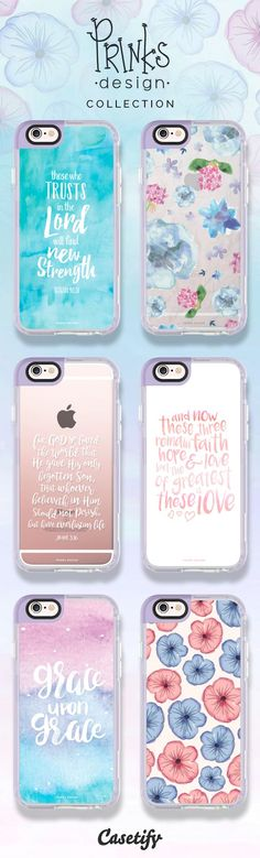 All time favourite inspirational quotes iPhone 6 protective phone case designs by @prinksdesign | Click through to see more pastel iphone case ideas >>> https://www.casetify.com/prinksdesign/collection #floral | @casetify