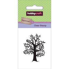 Hobbycraft Mini Clear Stamp Tree