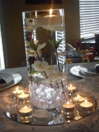 wedding centerpiece would be super cute if they had beta fish in them!!