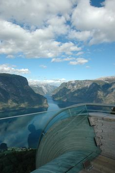 The Stegastein platform on the Sognefjord, Norway