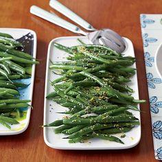 Green Beans Two Ways // More 30 Minute Sides: http://www.foodandwine.com/slideshows/30-minute-sides/1 #foodandwine