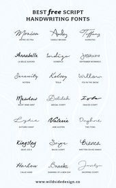 To save you time and effort, I've put together a list of my favorite script handwriting fonts that are completely free. Pretty, casual and authentic… The post Best Free Script Handwriting Fonts appeared first on Garden ideas. Mini Tattoos, New Tattoos, Small Tattoos, Tatoos, Simple Word Tattoos, French Word Tattoos, French Tattoo Quotes, Wrist Tattoos Quotes, Girl Spine Tattoos