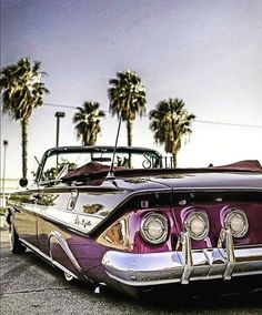 Vintage Sports Cars, Vintage Cars, Antique Cars, Classic Trucks, Classic Cars, Arte Lowrider, Lowrider Trucks, Old Hot Rods, Counting Cars