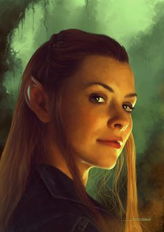 The Hobbit: The Desolation of Smaug            She is so pretty! I love the elves