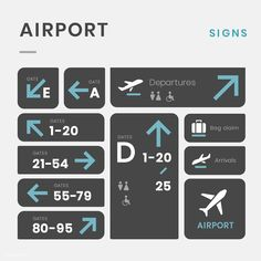 """Find """"airport signs"""" stock images in HD and millions of other royalty-free stock photos, illustrations and vectors in the Shutterstock collection. Map Signage, Wayfinding Signs, Signage Design, Directory Signs, Airport Signs, Aviation Quotes, Sign System, Software, Sign Image"""