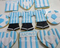 Soccer Party, Cupcakes, Club, Cookies, Frases, Gum Paste, Football Shirts, First Year, Parties Kids