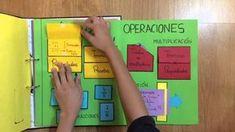 Lapbook de matemáticas para primaria - YouTube Interactive Learning, Interactive Notebooks, Math For Kids, Fun Math, Maths, Elementary Spanish, Paper Engineering, English Activities, Critical Thinking Skills