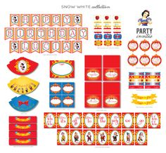 SNOW WHITE PARTY Personalized Package