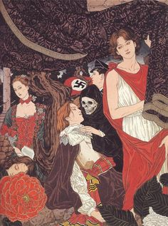 The World as a Labyrinth de Takato Yamamoto publicado en The Altar of Narcissus 1999