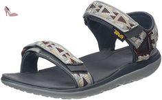 Teva Terra-Float Universal, Sandales Bout Ouvert Homme, Gris (Mosaic Grey/Chocolate/Mgch), 45.5 EU - Chaussures teva (*Partner-Link)