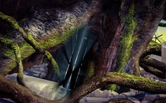 Where will this door lead? Screenshot from Exgenesis, a point and click adventure game in development by 48h Studio.