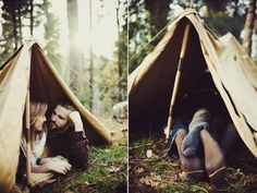 Outdoorsy engagement shoot. So perfect for the adventurous at heart!