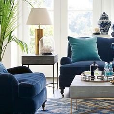 Faux Shagreen Side Table | Williams-Sonoma