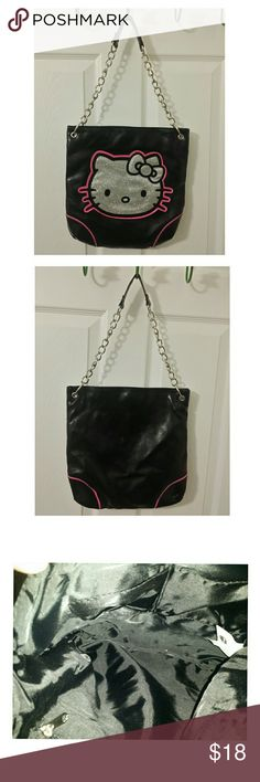 Hello Kitty Bag Good used condition hello Kitty purse. Clean inside and out. Hello Kitty Bags Shoulder Bags