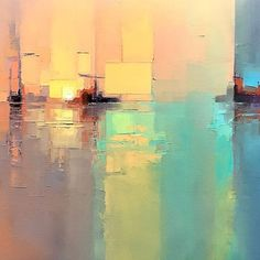 """Acquire wonderful ideas on """"abstract artists"""". They are offered for you on our internet site. Abstract City, Abstract Landscape Painting, Abstract Canvas Art, Landscape Art, Landscape Paintings, Contemporary Abstract Art, Modern Art, Arte Pop, Cool Paintings"""