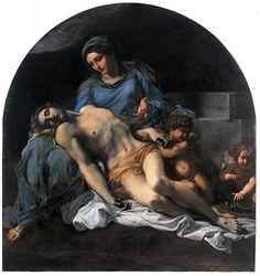 Annibale Carracci 1560-1609 Pieta - Annibale Carracci - Wikipedia