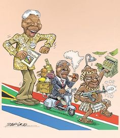 20 Years of Democracy - Or the falling standards of the ANC @myanc_