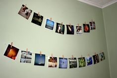 I am so doing this in my dorm, maybe without the hammer and nails. Command hooks are going to be my best friend