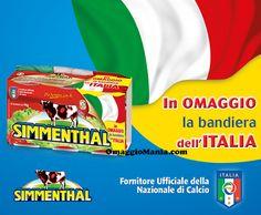Bandiera dell'Italia omaggio con Simmenthal - http://www.omaggiomania.com/omaggi-con-acquisto/bandiera-dellitalia-omaggio-simmenthal/