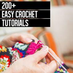 200+ Quick Crochet Tutorials