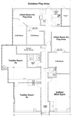 daycare floor plans | Floor Plan of Kids World Day Care in ...