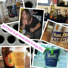 #febphotochallenge #12th #badhabit - don't drink to get drunk..drink to enjoy life...