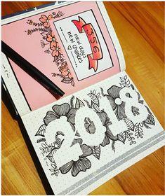 2018, nouvelle année pour mon #bulletjournal !