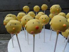 birdie cakepops, so cute