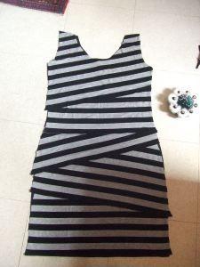 Stripey Dress Project, Anthropologie DIY