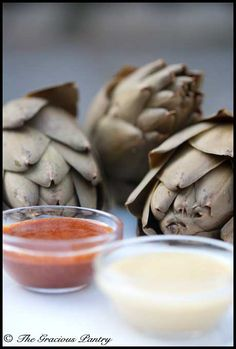 """artichoke dips... a healthier version anyway ;) A great """"Clean Eating"""" site also."""
