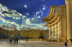 Place du Nombre d'or  - Montpellier - 3ème ville étudiante #étudiant #montpellier #soirée