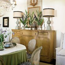 How To Decorate A Sideboard In A Dining Room 02