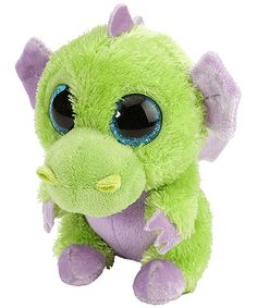 Love this dragon! His name certainly fits. Sour Apple Dragon Li'l Sweet & Sassy Stuffed Animal by Wild Republic