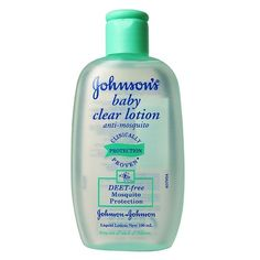 Johnson´s baby clear lotion Mosquito Protection