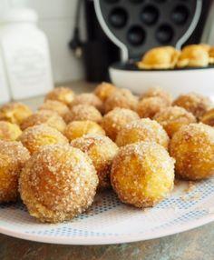 Cinnamon Sugar Doughnut Balls