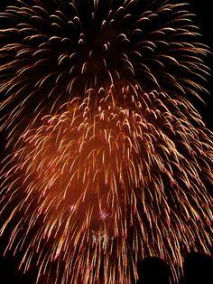 赤川花火大会(fireworks)