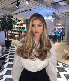 Brown Hair Balayage, Blonde Hair With Highlights, Brown Blonde Hair, Light Brown Hair, Hair Color Balayage, Light Hair, Brunette Hair, Black Hair, Balayage Beige