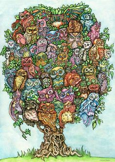 Owl tree!!!