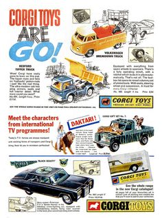 Corgi Ads 1967 by combomphotos, via Flickr