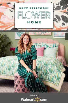 Shop for Drew Barrymore Flower Home Bedroom Furniture in Drew Barrymore Flower Home Furniture. Buy products such as Vintage Sun Mid-Century Accent Chair by Drew Barrymore Flower Home at Walmart and save.