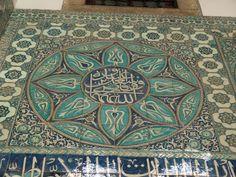 Istanbul, Turkey: Topkapi Palace Harem (Sogukceshme Sokak): entrance (Iznik) tiles