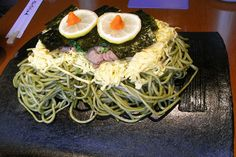 Kawara soba #Yamaguchi #JapanWeek  Subscribe today to our newsletter for a chance to win a trip to Japan http://japanweek.us/news  Like us on Facebook: https://www.facebook.com/JapanWeekNY