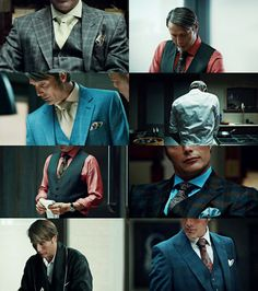 Hannibal wardrobe....deliciously well dressed. Mads Mikkelsen