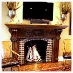 54 best fireplace logs images fireplace logs hearth home rh pinterest com