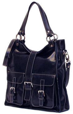 Livorno Bag By Floto In Blue Italian Leather Handbags Purses Mini