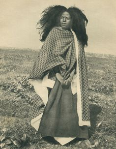 Woman in mourning, Madagascar